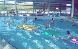 Initiation au water-polo pour le groupe