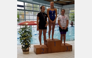 Le podium du 1500m JUNIORS